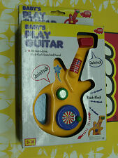 90'S VINTAGE BABY ACTIVITY DICKIE PLAY GUITAR TOY MIB
