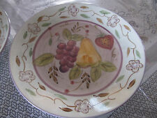 Set of 2 Gibson Handpainted plates
