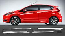 Ford Fiesta Mk7 Zetec - 5 Door Stripe Stickers Decals s1600