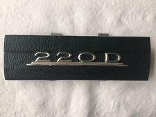 Radioschachtabdeckung Holz Radioblende Typenschild Mercedes 220D 220 D W115  /8