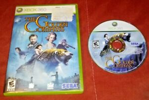 The Golden Compass (Microsoft Xbox 360, 2007) No Manual *TESTED*