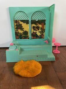 salle de bain Barbie Vintage