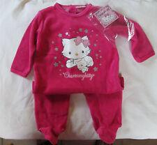 BODY pyjama pour bébé  fille 12 mois  - coton velours - NEUF