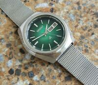 Orient ChronoAce 27 Jewels Automatic JDM 1972 MOP Green Dial 37.5MM