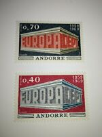 timbres  EUROPA andorre 1969 neuf sans charniere cote 40 euros