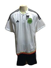 NEW MEXICO ADIDAS MENS GENUINE SOCCER WHITE JERSEY SIZE 2XL