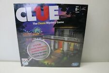 CLUE Board Game Hasbro Classic Mystery Game SECOND CRIME SCENE - Boardwalk! -NEW