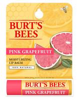 BURTS BEES Refreshing Pink Grapefruit Lip Balm Tube 4.3 g   New & Sealed