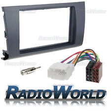 Suzuki Swift 05> Stereo Radio Fitting Kit Fascia Panel Adapter Double Din