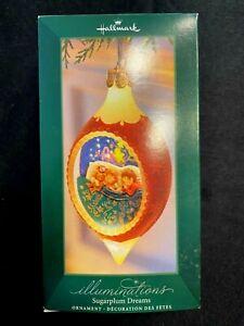 2005 Hallmark Illuminations Sugarplum Dreams Hallmark Ornament Magic Christmas
