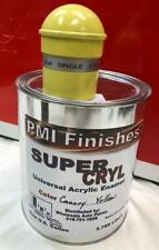 Canary Yellow Gallon Single Stage ACRYLIC ENAMEL Car Auto Paint