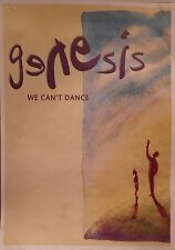 "MUSIC POSTER~Genesis We Can't Dance Original 24x34"" 1991 NOS Vintage UK Import~"