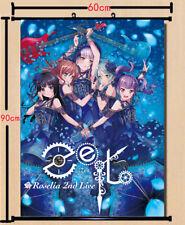 Bang Dream! Anime DIY Wall Scroll Poster Home Decor Collection 60*90cm Gift