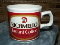 RICHMELLOW COFFEE MUG DOMINION GROCERY STORES CANADA  ADVERTISING BILINGUAL