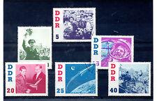 Alemania DDR Espacio Serie del año 1961 (BR-558)