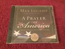 Max Lucado A Prayer For America Spoken by the author with music SEALED NEW CD