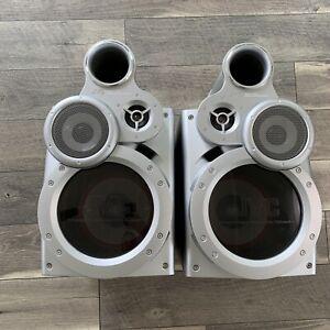 JVC SP-MXGT90 Giga-Tube Speakers 3 Way Bass Reflex (2-Pair) Set Subwoofer Power