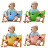 US STOCK Portable Baby High Chair Booster Safety Seat Strap Harness Seat Belt