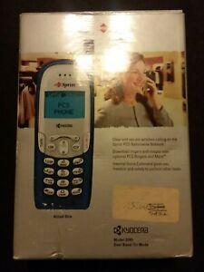 Vintage Kyocera Model #2345 - Blue Cellular Phone NEW IN BOX