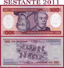 BRAZIL  BRASILE  - 100 CRUZEIROS  nd 1981-1984 -   P 198b   -   FDS / UNC