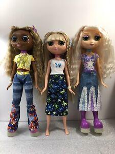 Mattel - Fashion Diva Starz - 3 Doll Lot - Used