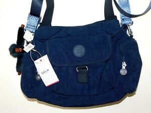 Kipling Navy Crossbody Messenger Bag (made in Cambodia) TAGS ATTACHED