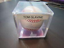 TOM GLAVINE Signed Official MLB BASEBALL Atlanta BRAVES New York METS #BB10 jbv