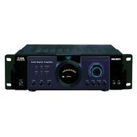 Pyle Pt3300 3000W Power Amplifier 2Mic In Remvbl Rack-Mount Brackets