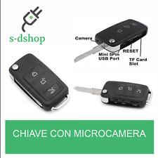 VIDEO MICROSPIA CHIAVE CON TELECOMANDO MICROCAMERA SPIA SPY CAM TELECAMERA SC0