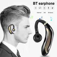 Bluetooth5.0 Headset Wireless Headphone HiFI Stereo Ear-Hook Earphone Waterproof