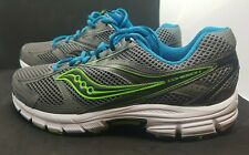 Saucony Men's Cohesion Grid Gray/Green/Blue XT-600 Running Shoes - Size 12 US