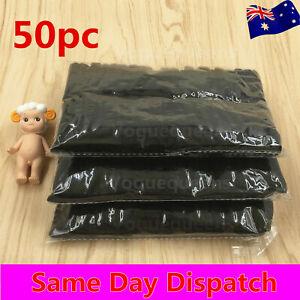 Black 50 x Women Elastic Hair Tie/Hair Band For Ponytail school tie