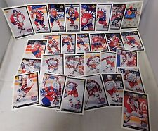 1992-93 McDonalds Upper Deck NHL Hockey All Stars Set Of 28 & Hologram Set Of 6