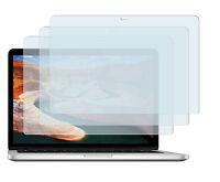 3 x Schutzfolie Apple Macbook Pro mit Retina 15'' A1398 Klar Displayschutzfolie