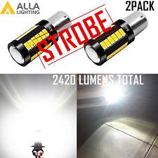 LED Legal 4-Strobe Reverse Light Bulbs Backup Lamps for 2003 Chevrolet Corvette