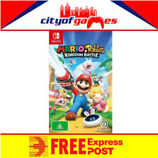 Mario + Rabbids Kingdom Battle Nintendo Switch Game New Free Express Pre Order