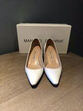 Manolo Blahnik White Dress Pumps 36/6