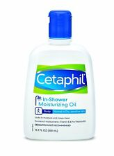 NEW Cetaphil In-Shower Moisturizing Oil for Normal to Dry Skin 16.90 Oz (6 Pack)
