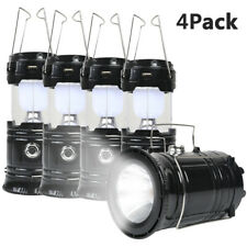 2 in 1 Ultra Bright Portable LED Flashlights Camping Lantern 2 Way Rechargeable