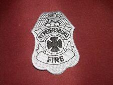 Authentic St Petersburg St. Pete Florida FL. Fire Dept. Department Patch