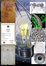 Hörbuch - Erfinder - Erfindung - Patent - Erfolg