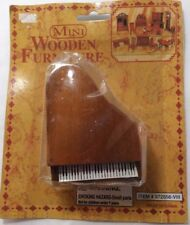 Mini Wooden Furniture, Mini Piano No. 972556-VIII, Walnut Piano - NEW
