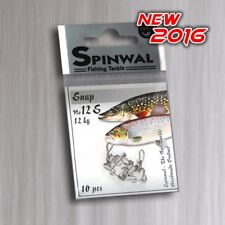 Spinwal Pêche Snap taille 12 S (12KG-25LB) Pack 10 pcs. Quick Lock Snap. Lure clip