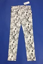 American retro jeans donna nuovo rose pants skinny stretch w26 tg 40 sexy T3872