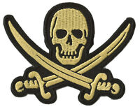 Patch écusson blason patche Pirate Corsaire thermocollant DIY