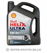 Motoröl Shell Helix Ultra Professional AG GM Opel dexos2 5W-30 5 Liter 5L