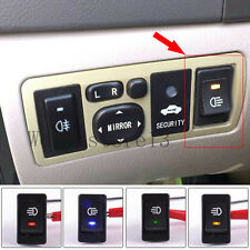 4-Pins LED ON/OFF Indicator Rocker Switch For Driving Fog Lamps / Work Light bar