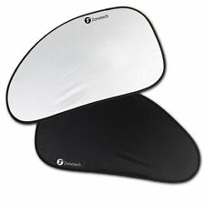 Zone Tech 2x Foldable Car Side Window Sunshades Sun Visor Shield Summer