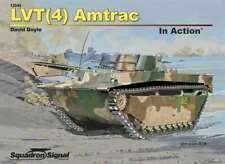 Lvt (4) Amtrac in Action, Amphibien Landung Craft (Squadron Signal 12049)