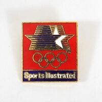 Vintage SPORTS ILLUSTRATED Pinback '84 LA OLYMPIC Games Committee PIN 1980